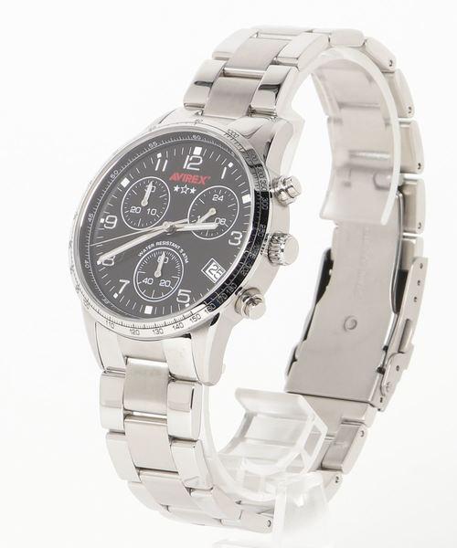 祝開店!大放出セール開催中 クロノグラフ W/METAL メタルバンド AVIREX/CHRONOGRAPH WATCH W/METAL BAND(腕時計)|AVIREX(アヴィレックス)のファッション通販, ホビーショップB-SIDE:298c8039 --- pyme.pe