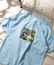 オートモアイ/別注プリントTEE WATER/アートTシャツ(Tシャツ/カットソー)