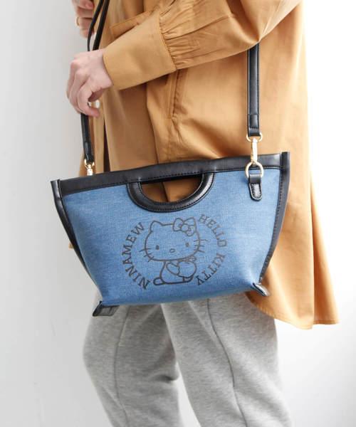 新品入荷 Hello KittyデニムBAG(クラッチバッグ)|ハローキティコラボ(ハローキティコラボ)のファッション通販, 二次会の虎:6ee2cf02 --- icsbestway.ru