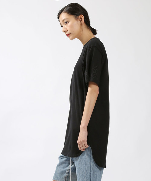 DISCOVERED / FIRE STITCH LONG TEE