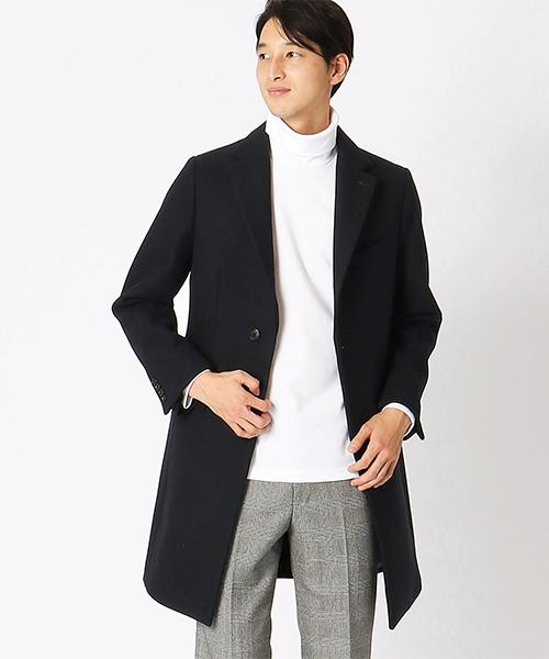 新しく着き 【セール】ウールメルトン CA ISM チェスターコート(チェスターコート) メンズ,COMME COMME CA ISM(コムサイズム)のファッション通販, APdirect:151a8162 --- wiratourjogja.com