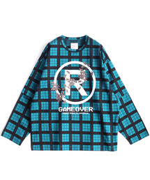 SHAREEF(シャリーフ)のCHECK JQ SEPARATE SLEEVE L/S-T(Tシャツ/カットソー)