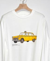 JANESMITH(ジェーンスミス)のJANESMITH ジェーンスミス / CHECKER CAB NEW YORK 1976 L/S 長袖プリントTシャツ / 20SCT-#257L-HH(Tシャツ/カットソー)
