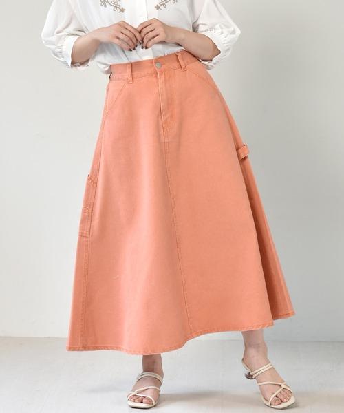 ペインターフレアスカート