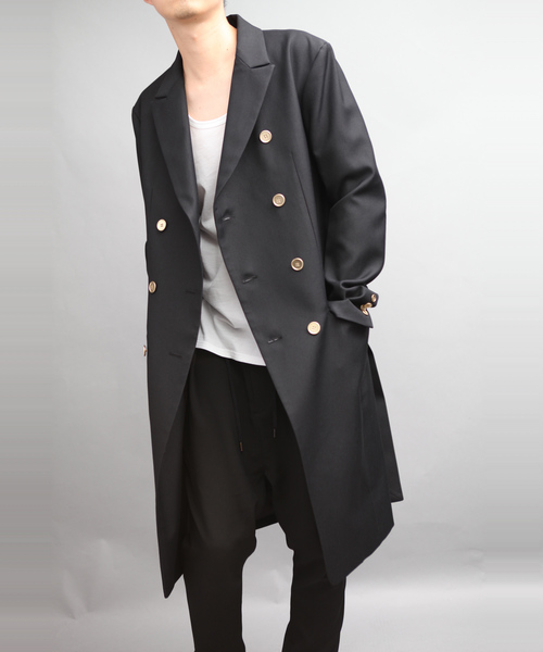 CHAMBRAY GABERDINE 8BW COAT