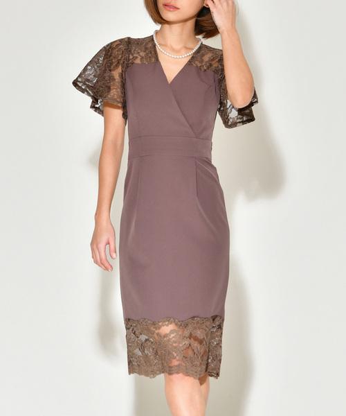 激安通販 wendy flare lace dress, 湘南こまものや d9dad49a
