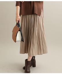 ViS(ビス)のマットサテンロングスカート(スカート)