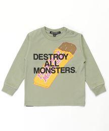 DAM/PBMF Tシャツ【XS/S/M】カーキ