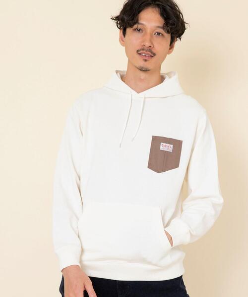 【女性にもオススメ】SMITH'S別注ポケットスウェットパーカー20FW(一部WEB限定カラー)#