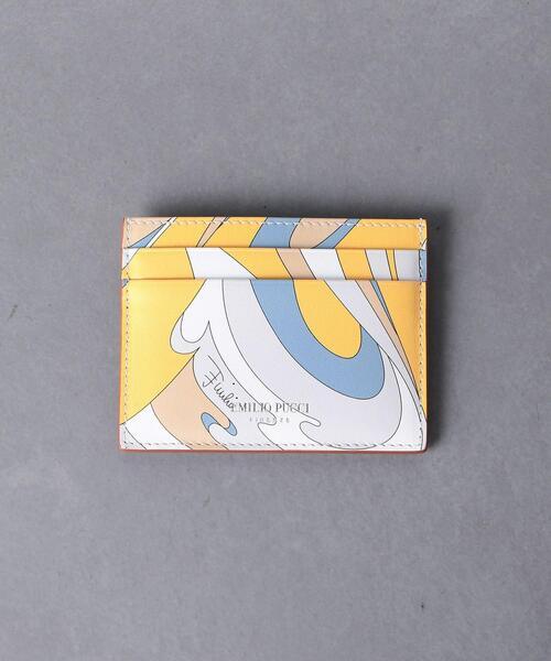 <EMILIO PUCCI(エミリオ プッチ)>プリント カード ホルダー ■■■