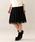 TO BE CHIC(トゥー ビー シック)の「ラッセルレーススカート(スカート)」|ブラック