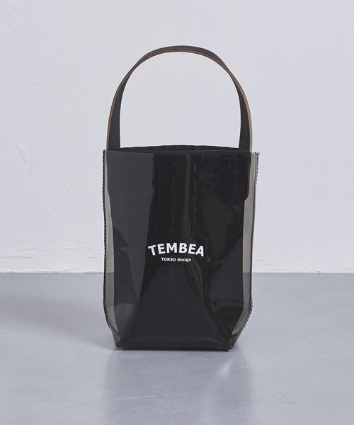 <TEMBEA(テンベア)>PVC バケット トートバッグ MINI†