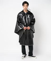 RAIN ポンチョブラック