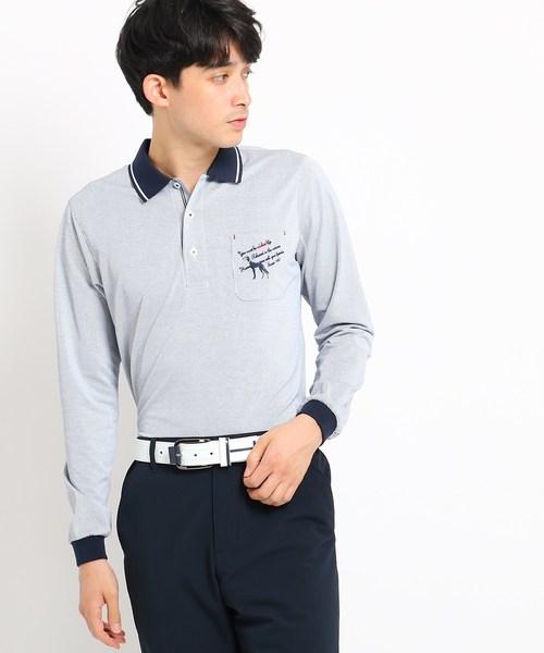 【期間限定】 【吸水速乾 STORE】胸ポケット付きストライプ長袖ポロシャツ(ポロシャツ)|adabat(アダバット)のファッション通販, VARIOUS JEWELRY:126440c5 --- bit4mation.de