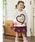 ANPANMAN KIDS COLLECTION(アンパンマンキッズコレクション)の「【アンパンマン】キルトスカート(スカート)」|詳細画像