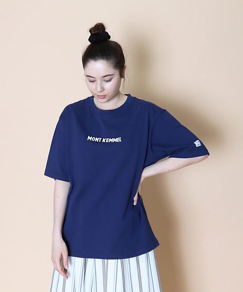 ∴【 MONT KEMMEL / モンケメル 】SS LOGO PRINT TEE ロゴ プリント Tシャツ