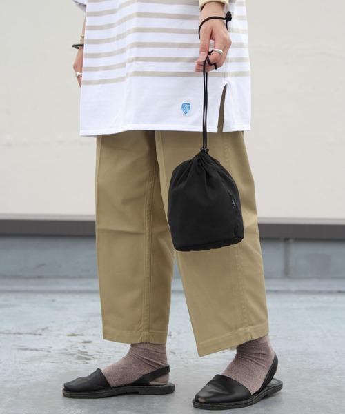 STANDARD SUPPLY / スタンダードサプライ 巾着 DRAW STRING POUCH S【SIMPLICITY】