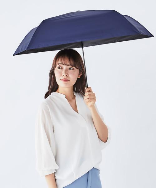 【 Amvel / アンベル】HEATBLOCK pentagon ヒートブロック ペンタゴン 晴雨兼用遮光率99.99%日傘 / 折りたたみ傘 AMI A1562