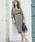 Emma Taylor(エマテイラー)の「【STYLEBAR】ミリタリーコクーンドレス(ワンピース)」|詳細画像