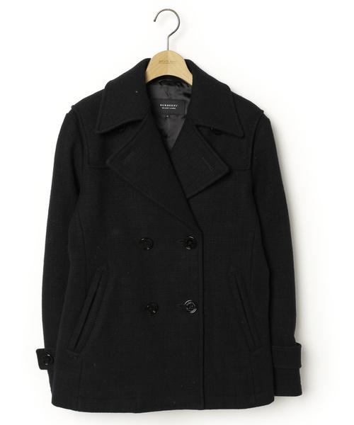 【最安値】 【ブランド古着】ピーコート(ピーコート)|BURBERRY BLACK LABEL(バーバリーブラックレーベル)のファッション通販 - BURBERRY BLACK USED, アメニティズショップ:b260250f --- kredo24.ru