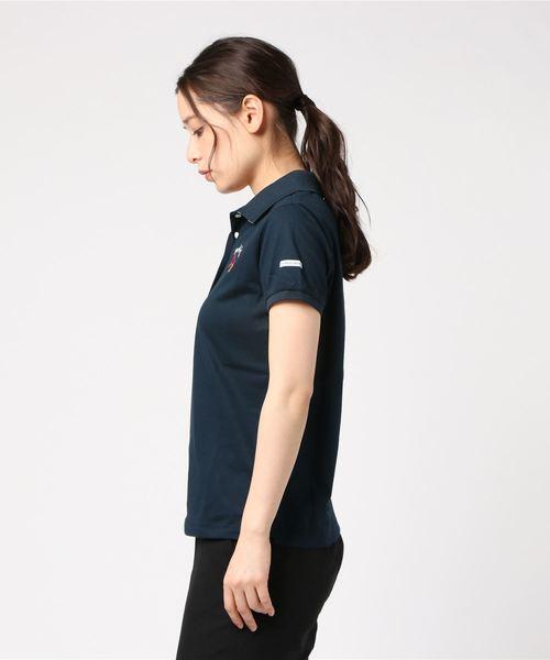 【PEARLY GATES】 ペンタス カノコ 半袖ポロシャツ