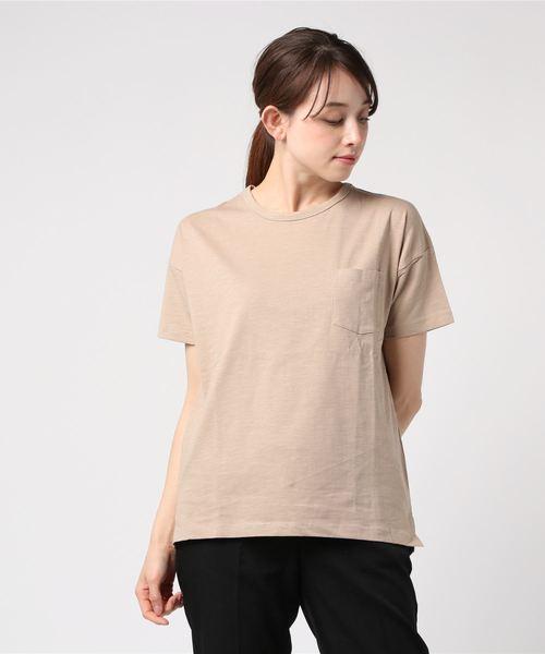 UNDERWRAPS / アンダーラップス 無地ポケTシャツ