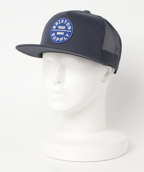 BRIXTON(ブリクストン)の「OATH III MESH CAP(キャップ)」|ネイビー