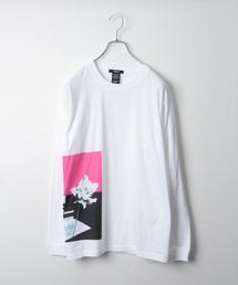 MORGAN HOMME(モルガンオム)のFlowerロングスリーブT(Tシャツ/カットソー)