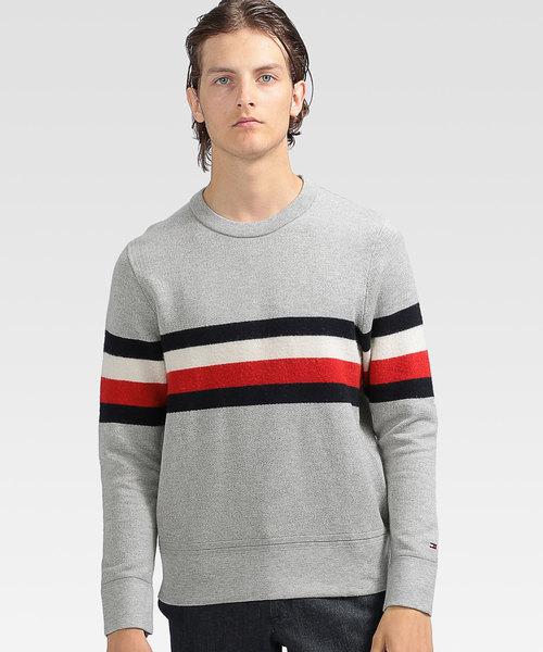 【 新品 】 コットン ウール ストライプ ストライプ セーター(ニット/セーター)|TOMMY TOMMY ウール HILFIGER(トミーヒルフィガー)のファッション通販, 革製品と毛皮のエアーマミー:b2004f89 --- pyme.pe