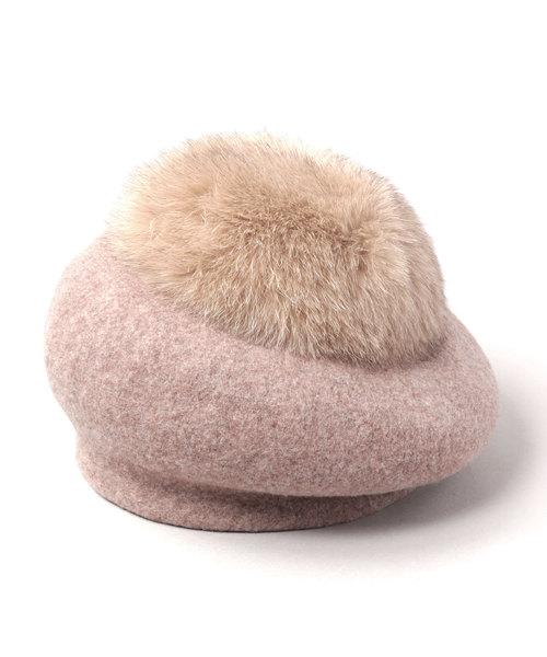 【楽天カード分割】 HOT TEA TEA FUR(ハンチング/ベレー帽)|CA4LA(カシラ)のファッション通販, いーでん:fa3fae7a --- hausundgartentipps.de
