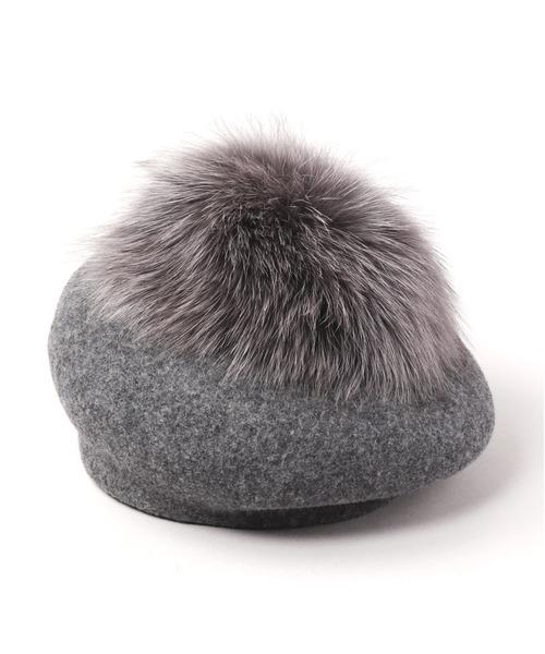 【逸品】 HOT TEA FUR(ハンチング TEA/ベレー帽)|CA4LA(カシラ)のファッション通販, ヨコテシ:04321112 --- hausundgartentipps.de