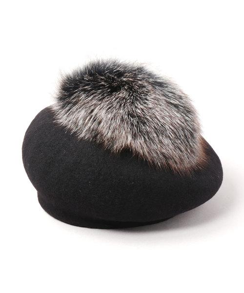 【高価値】 HOT TEA FUR(ハンチング/ベレー帽) TEA|CA4LA(カシラ)のファッション通販, ミワチョウ:dcc4b201 --- hausundgartentipps.de
