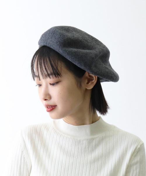 ▽ フェルトニットベレー帽 / FELT x KNIT BERET ・・