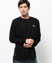 ROTAR(ローター)のThin chain logo L/S Tee(Tシャツ/カットソー)