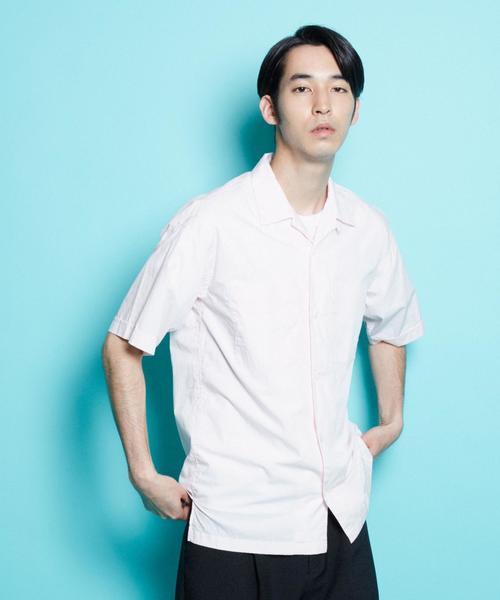 ENR オープンカラーショートスリーブシャツ ◆
