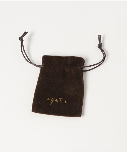 agete(アガット)の「K18ダイヤモンドネックレス(ネックレス)」 詳細画像