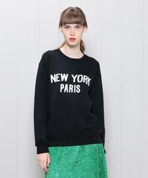 <RXMANCE>NEW YORK PARIS SWEAT/スウェット