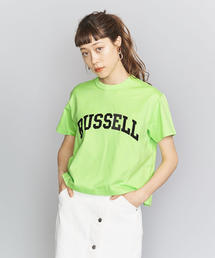 <k3&co. × RUSSELL ATHLETIC>ロゴTシャツ