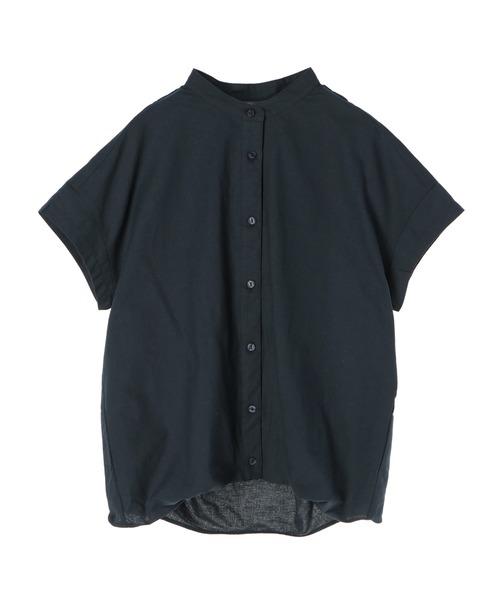 SEVENDAYS=SUNDAY(セブンデイズサンデイ)の「【2020春夏】バックボリュームシャツ*(シャツ/ブラウス)」|ネイビー
