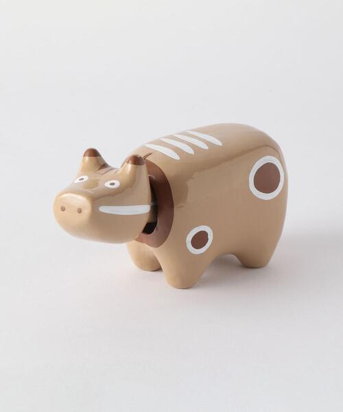 [ 酉民藝 ] モカべこ 3号 赤べこ フィギュア トイ おもちゃ 置物 縁起物 郷土玩具