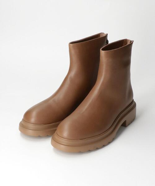 <Pomme Dor(ポモ ドーロ)>B/ZIP ブーツ