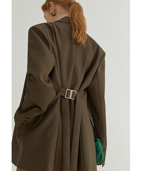 【Fano Studios】【2021AW】Adjustable back belt jacket FQ21W030