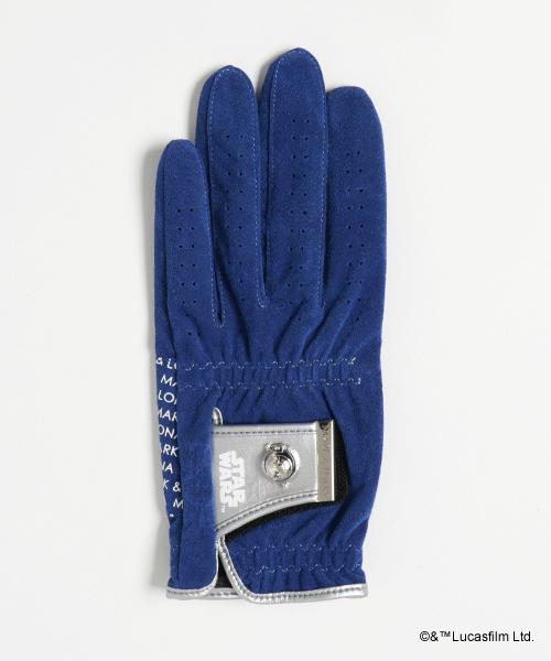 MARK&LONA(マークアンドロナ)の「SW studs Glove [Left]|MEN(ゴルフグッズ)」|ブルー