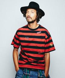 FERGADELIC METAL刺繍 ポケ付Tシャツ