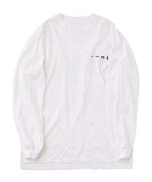 Name.(ネーム)のName. ×Sasazuka Bowl LONG SLEEVE PRINT TEE (NMCU-19SS-040)(Tシャツ/カットソー)