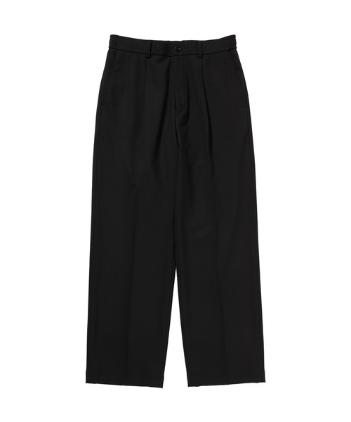 SPRING2020 WIDE TAPERED EASY SLACKS