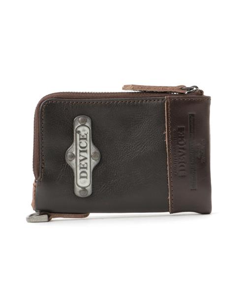 【DEVICE/デバイス】 gear 二つ折り財布
