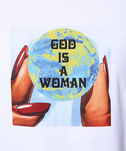 Lazy Tokyo God Is A Woman Tシャツ