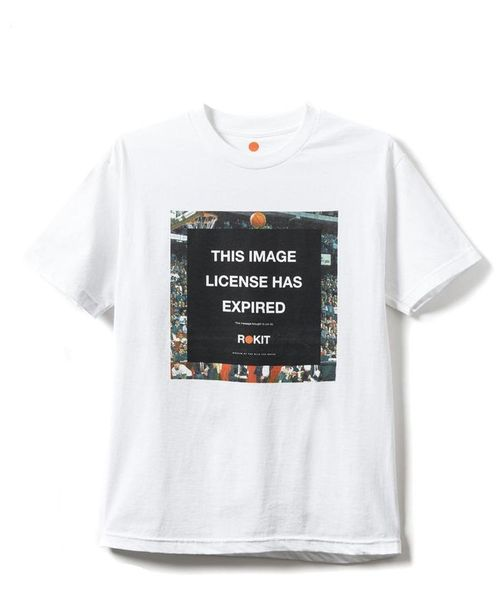 ROKIT/ロキット/THE LICENSE S/S T-SHIRTS