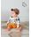 LaStella(ラステラ)の「アニマルソウガラレイヤードロンパース(70〜80cm)(ロンパース)」 詳細画像